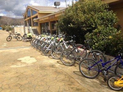 Trail bike rental in El Escorial for 1 hour
