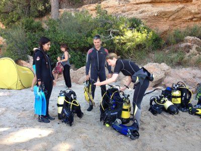 Open Water Padi Course in Ametlla de Mar