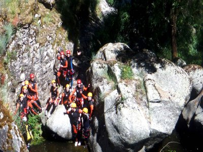 Canyoning in Pozo Airón, Arribes del duero 3.5h