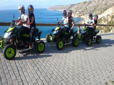 Quad adventure in the south of Mallorca 3h