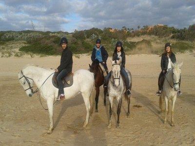 3-hour horse ride on the Coast of Cadiz