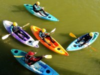 Kayaking lessons with a professional and prepared instructor.