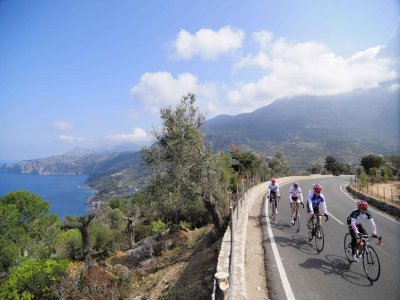 5h bike trip over the south of Mallorca