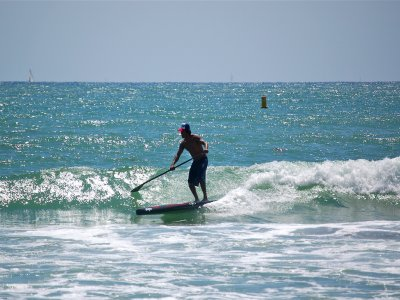 Paddle surf trip in Lekeitio bay 2 hours