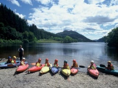 Ardentinny Outdoor Education Centre Kayaking