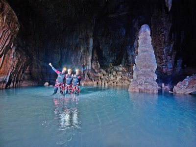 Visit an underwater cave in Mallorca