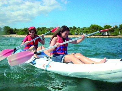 Kayak initiation course in Palma de Mallorca 2 h