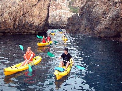 3h kayaking + snorkel experience in Santa Ponsa