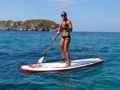 Paddle surf trip and snorkeling in Santa Ponsa