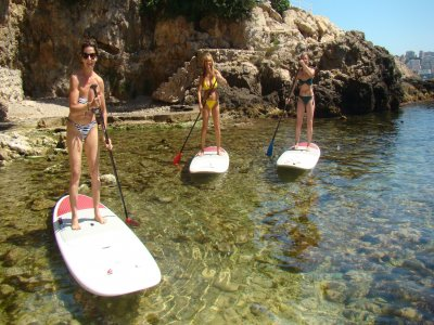 Initiatory course to paddle surf in Pollensa