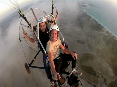 Paratrike Flight Over Unspoiled beaches, Mallorca