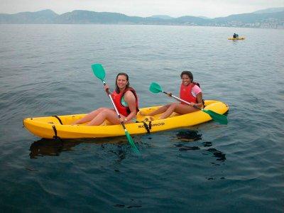 Canoe rental 1 hour in Majorca shores 1 h