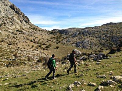 3h Trekking through river Paddles, Almería