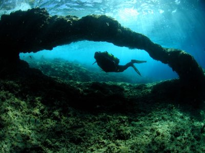 Diving in Benidorm without equipment