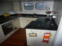 Galley, Sailing Holidays in Scotland