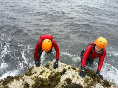 Coasteering Session in Snowdonia for Half Day