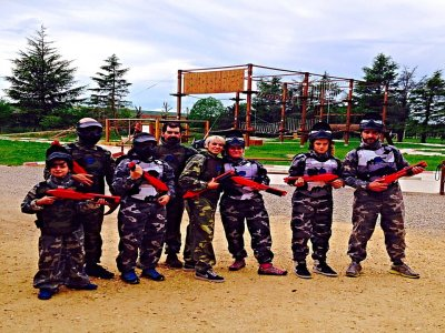 Paintball in La Rioja, kids from 8 years