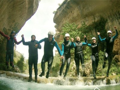 Speleology Cueva Moros and Canyon Los Cortados
