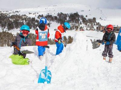 Roc Roi Andorra Construir un Iglú