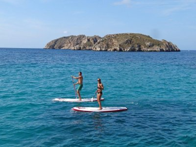 Rent of surfboard for paddle surf in Santa Ponsa