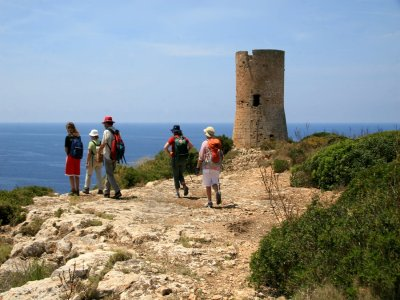 Trip through the shore and cliffs of Mallorca