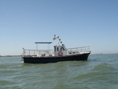Boat trip in Sancti Petri with champagne, 2 hrs