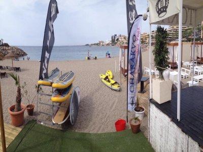 Kayak rental in Roquetas de Mar. 1h