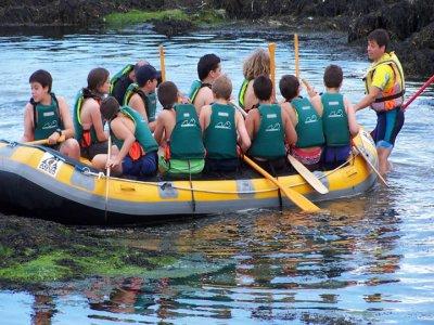 Multi-adventure weekly camp, Rianxo