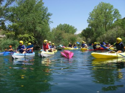Kayaking down the Guadiela - 2.5 hours