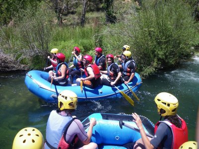 Rafting in Guadiela reservoir children fee