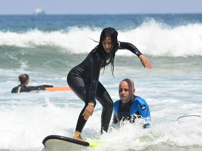 2-Hour Private Surfing Classes in Somo