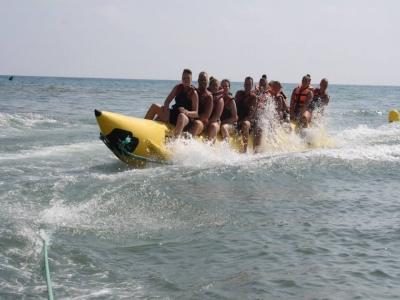 Banana Boat in Salou (15 minutes)