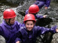 All smiles Canyoning