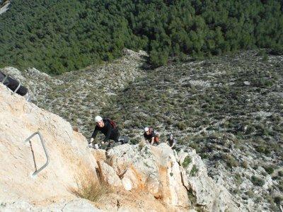 Via Ferrata in Alicante. Mid-level. 3 hours.