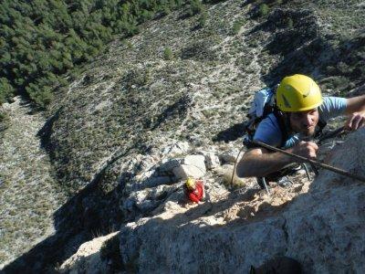 Via ferrata in Alicante. High level. 3 hours
