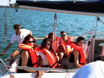 2 h. 15 min. first sailing experience in Granada