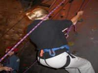 Abseiling on our indoor venue