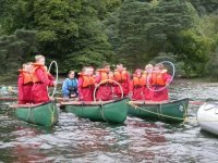 A great range of fun experiences canoeing