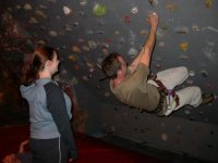 Experience our indoor climbing wall