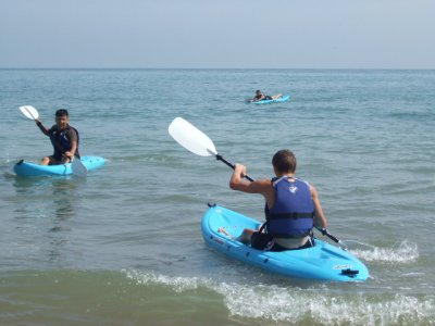 Joss Bay Surf School Kayaking
