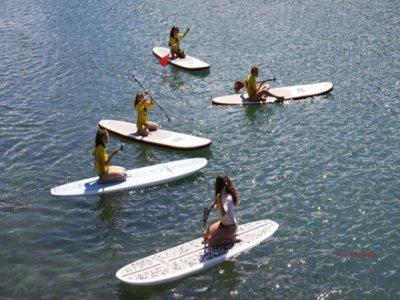 Paddle Surfing, Ebro's meander. Children fee