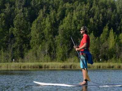 Paddle surfing, Ebro's meander, adult fee