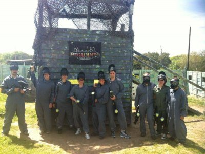 Paintball stag party and barbecue Collado Mediano