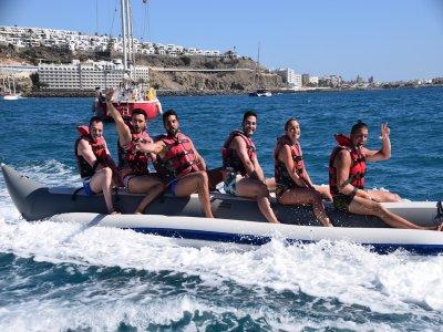 10 Min Banana Boat Ride in Anfi del Mar
