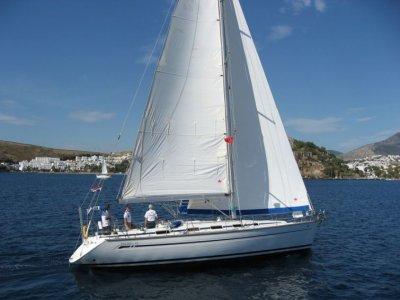 Weekend trip in sailboat in barcelona