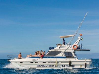 Motor boat trip around Anfi del Mar 1 hour