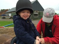 Lessons for toddlers at Sherwood Riding School
