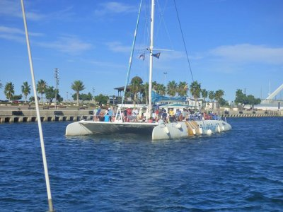 Sailing boat ride with dip Calpe, 2h, Children fee