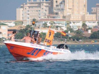 Motor boat hiring w/o captain in Murcia - 6 hours