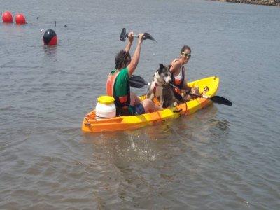 Kayak rental in Somo for 3 hours
